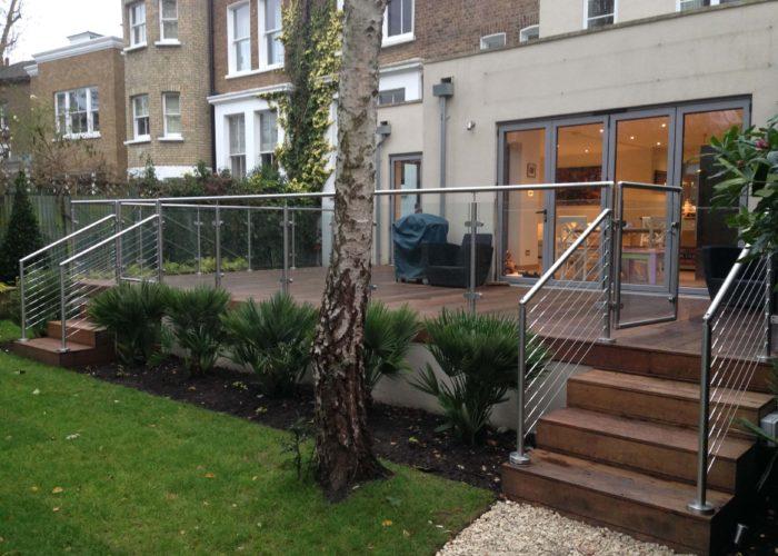 Garden Glass Balustrades 1