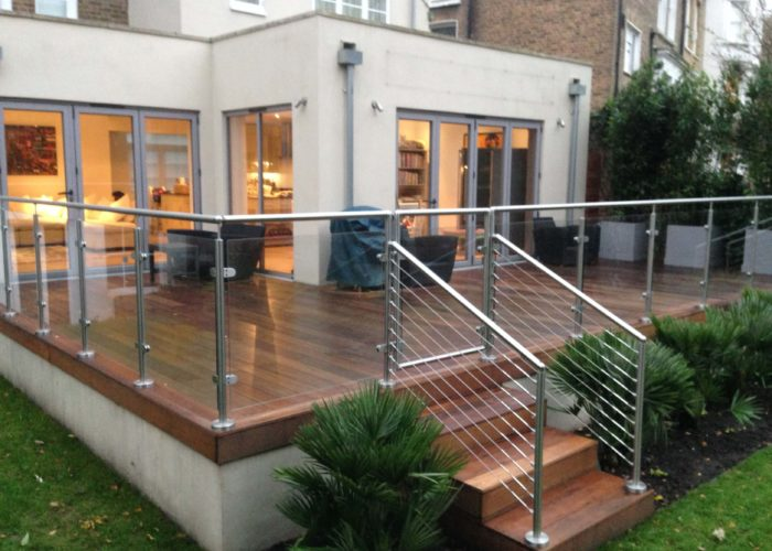 Garden Glass Balustrades 10