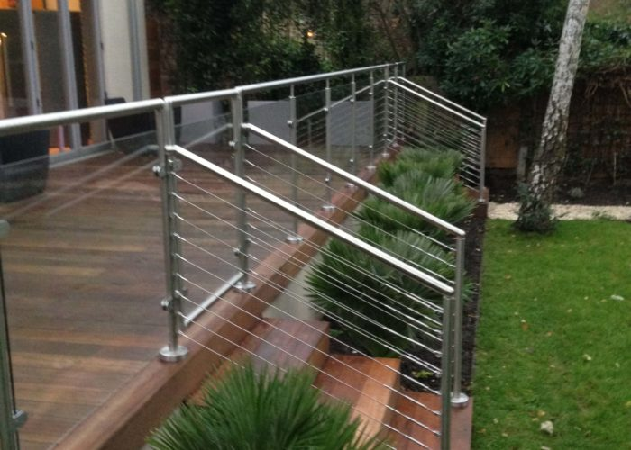 Garden Glass Balustrades 11