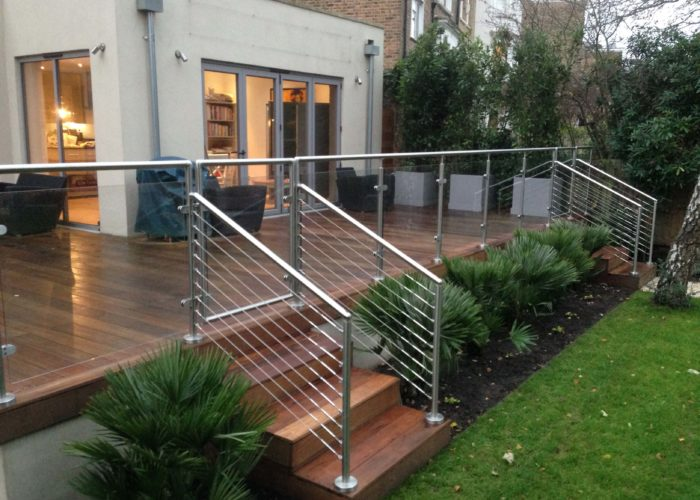 Garden Glass Balustrades 12