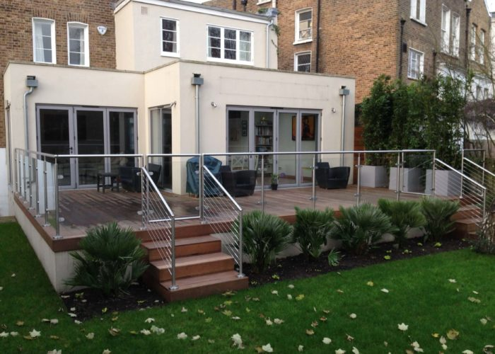 Garden Glass Balustrades 14