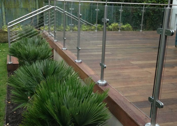 Garden Glass Balustrades 3