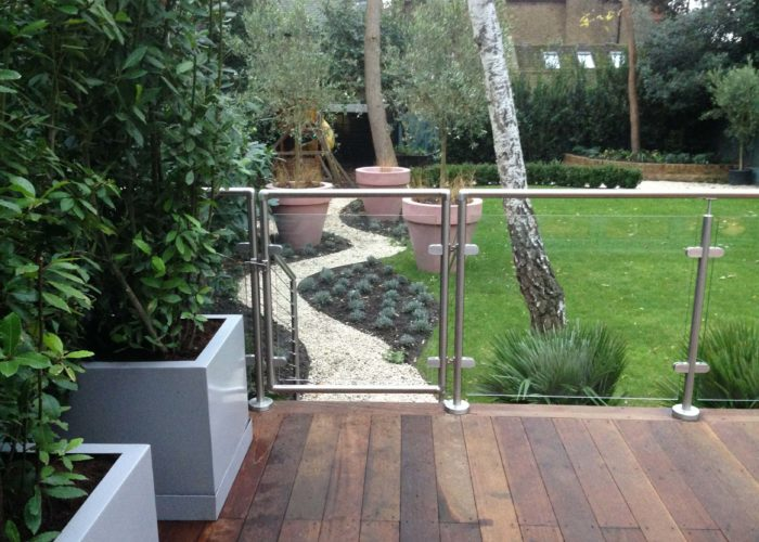 Garden Glass Balustrades 6