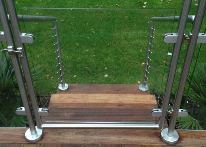 Garden Glass Balustrades 8