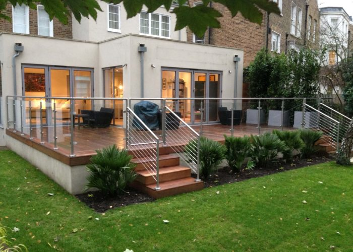 Garden Glass Balustrades 9
