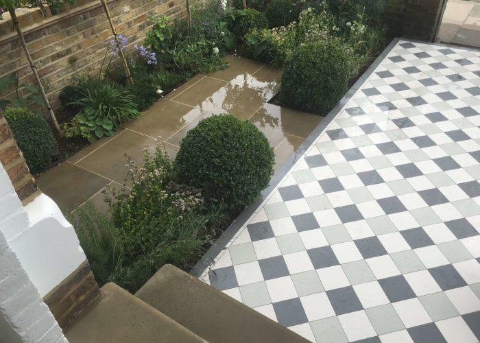 Garden Tiling 4