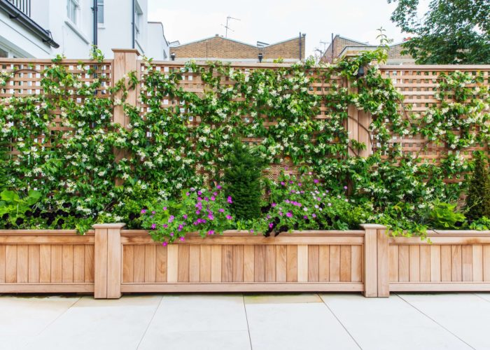 Garden Trellising Installation 8